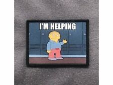 I'm Helping Morale Patch Ralph Wiggum Simpsons Tactical Outfitters