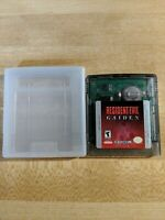 Resident Evil Gaiden for Gameboy Color GBC ~ Cart Only ~ Authentic & Rare