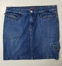Levi's denim skirt size medium 34 1244