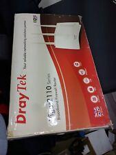 DrayTek Vigor 2110n 2110 Wireless n Router DSL Modem Mint 50