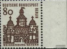 Berlin (West) 249 Seitenrandstück postfrisch 1964 Bauwerke