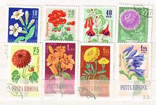 Romania Flora Flowers Plants set 1964
