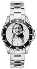 Sitting Bull Häuptling Indianer Uhr 20201