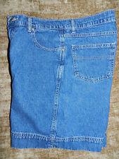 G.H. BASS - Denim Bermuda / Walking Shorts (Size 10) Cotton