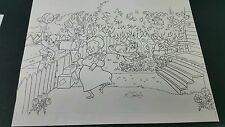 KELLEY JARVIS Looney Toons Origina Art Sketch One of a Kind 11x14 Bugs Tweety