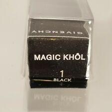 Givenchy Magic Khol Eye Liner Pencil, #1 BLACK .03 oz. NEW~FACTORY SEALED!!!