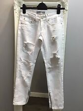Liquor & Poker Skinny Jeans With Extreme Distressing Ripped Knees (AS-42/12)