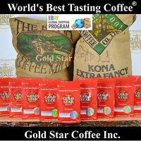 World's Best Coffee - 10 lb Hawaiian Kona - 100% Pure - Worldwide Shipping