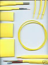 1.6mm YELLOW HEATSHRINK TUBING HEAT SHRINK per metre
