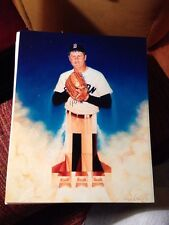 "Roger Clemens by Sports Artist Ron Lewis 8"" x 10"" Glossy Photo/ Painting **Nice*"