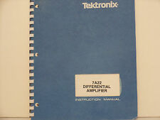Tektronix 7A22 Differential Amplifier Manual