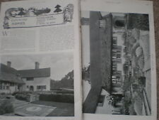 Photo article Goddards stately home Abinger Common Dorking 1904 my ref R