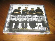 Chicano Rap CD BLOCCMADE MUZIK Full Tyme Hustle Mixtape - SLICK-C Young Mac
