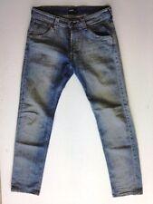 Lee Powell Jeans Hose Hellblau Stonewashed W31 L32