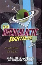 Star Trek THE INTERGALACTIC BARTENDER Drink Mixing Guide ~ Boldly Go!