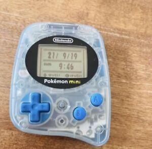 Nintendo Pokemon mini Console game (Uper blue Color) + 1 Pokemon soft Japan
