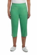 ALFRED DUNNER® Plus Size 22W Bahama Bays Capri Pants NWT $52