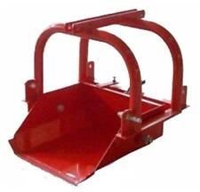 3-Point Scoop Bucket 24 Inch Farm Tractor Part No FISCOOP24
