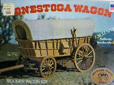 Vintage 1977 Allwood Brand Conestoga Wagon Kit, Never Opened!