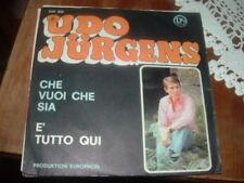 """UDO JURGENS """" CHE VUOI CHE SIA  """"  ITALY'69"""