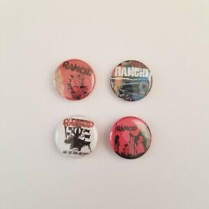 Vintage Rancid 90s Pin Back Pinback Punk Rock Band