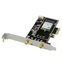 PCIE Dual-Band Kabellos -N Adapter 2.4G / 5.8G Wi-Fi + Bluetooth 4.0 Kabell E9I2