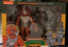 NECA Teenage Mutant Ninja Turtles 3 Pack Triceraton Infantryman & Roadkill TMNT