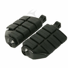 Pair Male Mount Foot Pegs Footrests For Harley Touring Sportster Softail Dyna