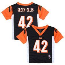 NFL Mid Tier Jersey Collection Toddler Sizes (2t-4t) Cincinnati Bengals BenJarvus Green-ellis Black 3t