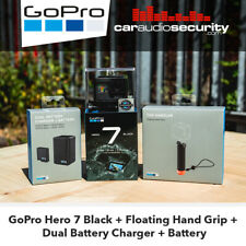 GoPro Hero 7 Black + Floating Hand Grip + Dual Battery Charger + Battery