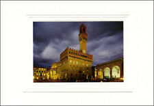 Veduta di Palazzo Vecchio, Firenze - BIGLIETTO D'ARTE