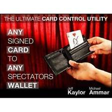 Any Card to Any Spectator's Wallet  Black (DVD and Gimmick)