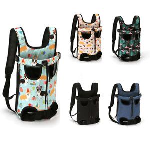 Pet Cat Dog Carrier Backpack Adjustable Pet Front Carrier 4 Legs Out Travel Bag