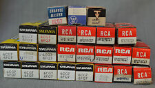 NOS (New) Tubes - Radio, TV, AMP, AUDIO 6CG7 and 6FQ7/6CG7 tubes