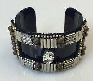 New Ranjana Khan RK Art Deco Bracelet Cuff The Limited Jewelry