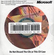 Microsoft Office 2007 Professional - OEM - ITALIANO - incl. DVD