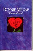 Ronnie Milsap Heart & Soul 1987 Cassette Country Folk Rock Western