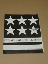 New Orleans All Stars 1966 Tour Programme + Ticket