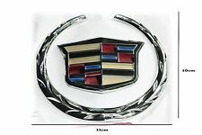 Cadillac Rear boot Trunk badge 110-100mm 2007-2014 Escalade. Brand New