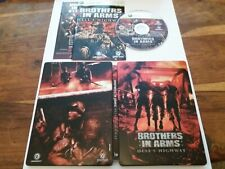 Brothers In Arms Hells Highway UK XBOX 360 Steelbook Edition + Instructions VGC