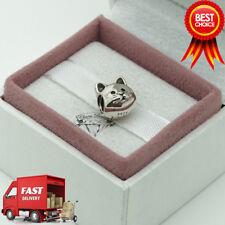 ORIGINALE Pandora, ciondolo gatto CURIOSO 791706