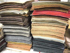 """Leather panels large 20 pieces 8"""" x 10"""" MIX Colors"""
