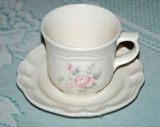 Pfaltzgraff TEA ROSE tea/coffee cup and saucer - buy 1, 2...to 8!