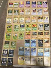 Pokémon Rare Card Lot ( Over 50 Rares ) DAMAGED - See Details