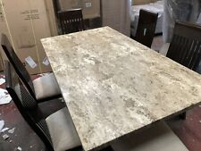 Alfrank Marble dining table + 6 Chairs