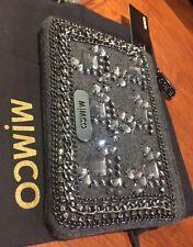 💞Mimco 15x10 Cm New Novak Mim Pouch Wallet Clatch Handbag + Dust Bag