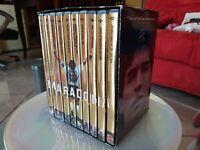 Rarissimo cofanetto Diego Armando MARADONA 10 DVD DA Collezione