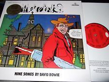 DAVID BOWIE : METROBOLIST 50TH ANNIVERSARY BLACK VINYL LP 2020 PARLOPHONE EU