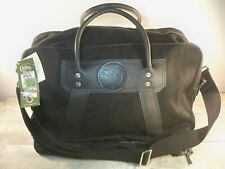 NEW Duluth Pack Black Boot Duffel Carry On Weekender Overnight Travel Duffle Bag