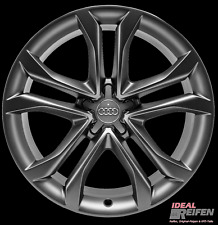 4 Original Audi A4 S4 8K B8 18 Zoll Felgen 8K0601025J 8K0601025CP 8x18 ET47 TM